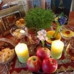 عید باستانی نوروز بر شما فرخنده باد