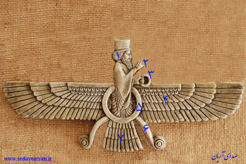 عکس نماد فروهر با کیفیت بالا